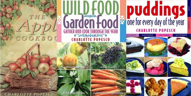 Cookbooks written by Charlotte Popescu